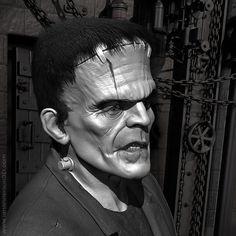 Frankenstein's Monster sculpted in ZBrush