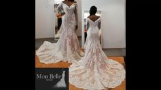 Yes you can have a PINK wedding dress  Custom designed especially for you OR from our European designers current style  #monbellebridal #pinkwedding #pinkweddingdress #perthbridal #perthwedding #weddingdesigner #laceweddingdress #satinweddingdress