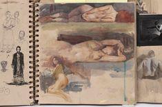 Steve Huston sketchbook page Figure Painting, Figure Drawing, Painting & Drawing, L'art Du Portrait, Figurative Kunst, Artist Sketchbook, Sketchbook Inspiration, Art Studies, Moleskine