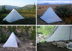 Mountain Laurel Designs DUOMID pyramid tent - Great for snow and super light! ~$500