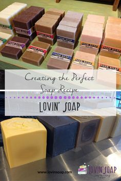 creating the perfect soap recipe -  Soap | Handmade Soap | DIY Soap | Soap Making | Soapmaking | Learn to make soap | Natural Soap | Soap Recipe | Soap Tutorial