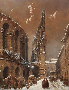 L'Arena di Verona by MOJA FEDERICO (MILANO 1802 - DOLO (VE) 1885)