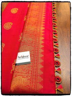 Bridal Saree Kuchu Design saridress Krishne's customised saree pallu designs ar… Saree Tassels Designs, Saree Kuchu Designs, Saree Blouse Neck Designs, Bridal Blouse Designs, Crochet Designs, Indian Fashion, Fashion Ideas, Sarees, Hand Designs