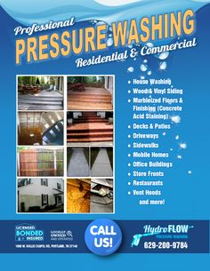 You Too Can Use These Pressure Washing Templates For