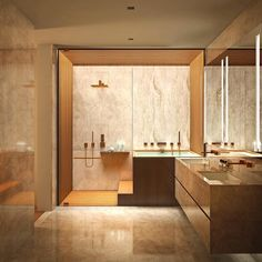 Fresh contemporary and luxury bathroom design ideas for your home. See more clicking on the image. Home Interior, Decor Interior Design, Bathroom Interior, Interior Design Living Room, Modern Bathroom, Master Bathroom, Interior Decorating, Master Baths, Bathroom Green