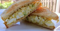 The Masters Egg Salad Sandwich Recipe - you can't watch the Masters without eating an egg salad sandwich! This recipe is quick, easy and tastes better than the original!
