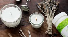 Your New Favorite Use For Coconut Oil: DIY Scented Candles