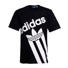 Resultado de imagen de adidas black and white shirt