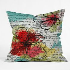 Irena Orlov Couple Throw Pillow | DENY Designs Home Accessories