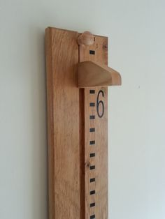 Handmade Wooden Growth Chart / Oversize by WoodenGrowthCharts