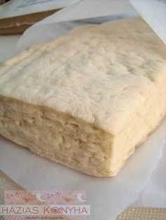 Hungarian Cake, Hungarian Recipes, Breakfast Recipes, Dessert Recipes, Sweet And Salty, Cakes And More, Cake Cookies, Nutella, Bread Recipes