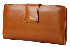 Yahoho Women's Wax Genuine Leather Bi-Fold Wallet Card Organizer Holder (Gift Box) Brown Yahoho http://www.amazon.co.uk/dp/B00YU4JA1C/ref=cm_sw_r_pi_dp_UjNDwb0D9BJ1S