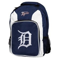 Detroit Tigers MLB Concept One Southpaw Team Color Backpack New With Tags #ConceptOne #DetroitTigers