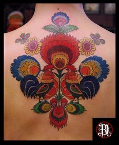 Polish Folk Design tattoo