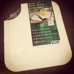 Need More Counter Space In Your RV? Use A Sink Mate Cutting Board To Cover