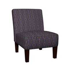 Maran Slipper Chair featuring KRLGFabricPattern_157B11LRG by karenspix | Roostery Home Decor