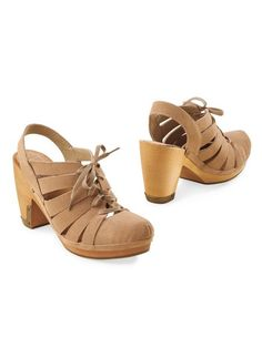 Women's Latigo Cali Lace-Up Sandals | Sahalie Oxfords are made easy & breezy in Latigo(R) Cali Lace-Up Sandals. With cooling cutouts, tie-to-fit laces and beautiful blonde heels trimmed in bronze plating. Straw-colored suede blends with every single thing you own.