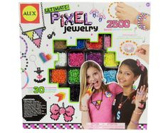 Have fun making pixel jewelry! Use this kit to create pixelated accessories including earrings, pendants, bracelets, rings and more.