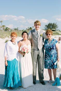 Grandma Janine, me, Brian, Grandma Jackie :)
