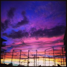 Post #typhoon sky over #Tokyo #crazysky - @justinthomas02- #webstagram
