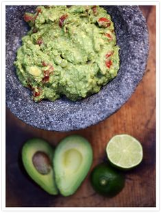 Guacamole by Muy Bueno - This guacamole recipe is super simple and fresh. Beware; it's also addictive. The best part about guacamole is experimenting and making it uniquely yours. Here is our version, but you can add more or less of each ingredient to satisfy your personal preference.  Hispanic Kitchen