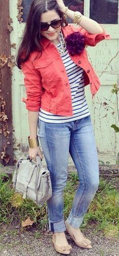Coral Jacket...adoro o casacooo
