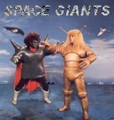 Goldar and the evil Rodak from Space Giants (aka Ambassador Magma - マグマ大使)