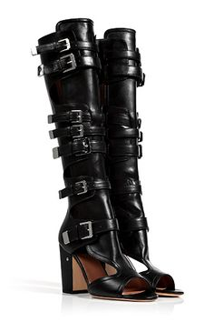f4ed2d7abac Add statement style to any look with these edgy open toe boots from  Laurence Dacade