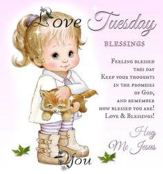 Tuesday-----Hug Me Jesus
