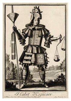 Nicolas-Larmessin-Costumes-Grotesques-Habit-metier-30