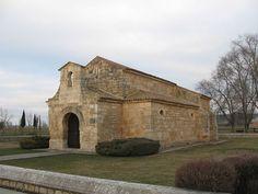 Iglesia visigoda de San Juan de Baños en la localidad de Baños de Cerrato, municipo de Venta de Baños, provincia de Palencia, Comunidad de Castilla y León, España, 661