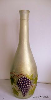 Alina's decoupage world: Bottles