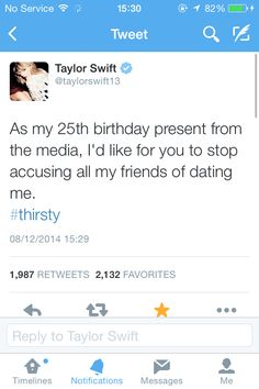 I want to get this tweet tattooed on my face there's so much sass in it #thirsty