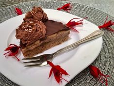 Gaštanovo-banánová tortička bez múky - recept | Varecha.sk Cheesecake, Gluten Free, Pie, Treats, Sweet, Desserts, Food, Cakes, Glutenfree