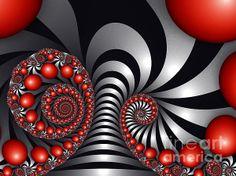 """""""Red Balls"""" [Fractal Art]"""