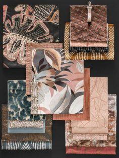 she shed ideas interior Color Inspiration, Interior Inspiration, Inspiration Boards, Moodboard Interior, Art Chinois, Casamance, Material Board, Mood And Tone, Art Japonais