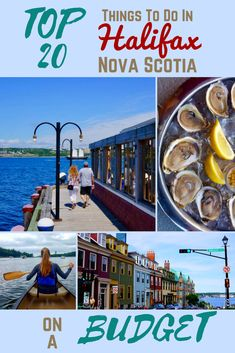 Best Things to Do in Halifax: Budget-Friendly Travel Guide Halifax, Nova Scotia may just be one of the most budget-friendly destinations in Canada! East Coast Travel, East Coast Road Trip, Canada Cruise, Canada Travel, Canada Trip, Visit Canada, East Coast Canada, Nova Scotia Travel, New England Cruises