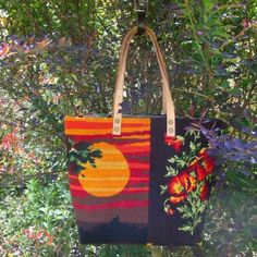 leshopdemoz.com A French Tote Bag Collection, needlepoint tapestry