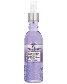 The Healing Garden RainWater Body Mist - Tender Lavender: 6.4 OZ *** Want to know more, visit