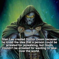 Marvel Fact: Dr. Doom