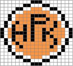 Viiriäisenpesä: Tappara on terästä - tai vaikka villaa Knitting Patterns Free, Free Knitting, Marimekko, Logo Branding, Crochet, Minecraft, Sports, Inspiration, Hama