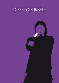 No041 My Eminem Minimal Music Poster Digital Art