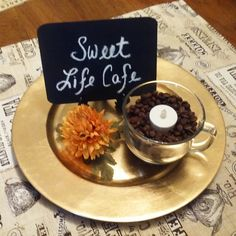 Fall retreat centerpiece Sweet Life Cafe