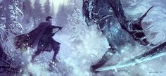 Game of Thrones: Jon Snow by JMichek.deviantart.com on @deviantART