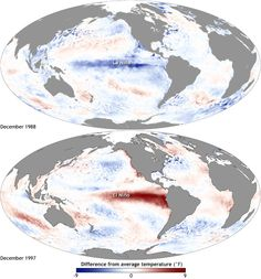 How will El Niño affect 2015's placement among the warmest years on record? | NOAA Climate.gov