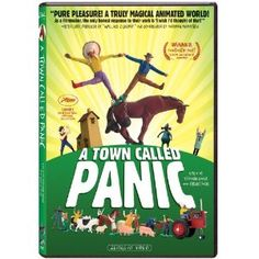 A Town Called Panic I love this film becouse it's bazzar, witty and creative. the animation styel is great and the whole film is exedingly oridginal. The qurkie colourful style Is a big inspiration for my main animation really. Family Movies, Top Movies, Movies To Watch, Internet Movies, Movies Online, Jeanne Balibar, Thor, Homemade Birthday Gifts, Netflix