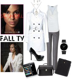 Designer Clothes, Shoes & Bags for Women Olivia Pope Wardrobe, Olivia Pope Style, Modern Outfits, Stylish Outfits, Work Fashion, Fashion Looks, Scandal Fashion, Kerry Washington, Black Girls Rock
