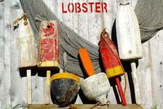 Downeast Nautical Salvage Lobster Trap Buoys