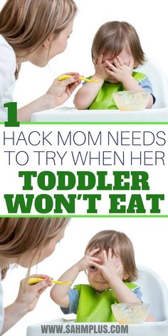 If your toddler won't eat dinner, try our simple toddler mealtime hack to get them to eat before you determine your toddler is a picky eater. Parenting Goals, Parenting Toddlers, Kids And Parenting, Parenting Hacks, Parenting Classes, Parenting Styles, Foster Parenting, Parenting Quotes, Toddler Wont Eat