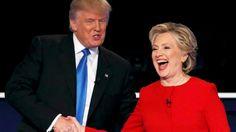 Clinton gana la mano a Trump en un primer debate hosco